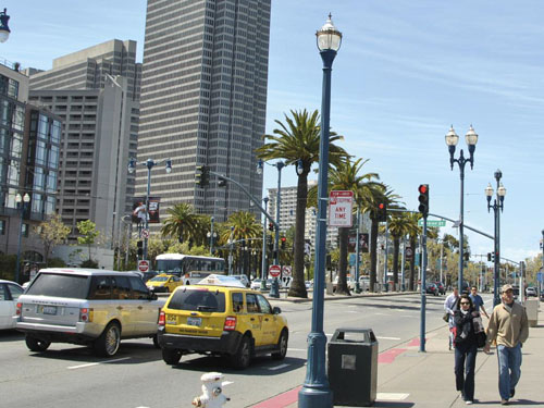 San Francisco : Embarcadero Freeway